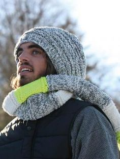 Mount Evans, basic hat - Free Pattern: A great loose-fitting hat that lays softly on the head, firmly held by a generous band...