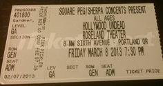 #HollywoodUndead #RoselandTheater March 8, 2013