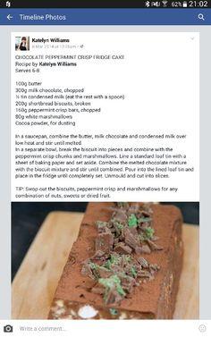 Magic Cake Recipes, Tart Recipes, Baby Food Recipes, Dessert Recipes, Cooking Recipes, Peppermint Crisp, African Dessert, Cut Recipe, Cooking Measurements