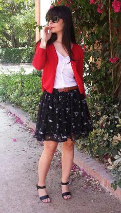 DIY: Tutorial falda fácil  estampada con sellos