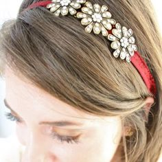 DIY Jeweled Ribbon Accessories