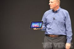 It's a tablet and it's called the Microsoft Surface