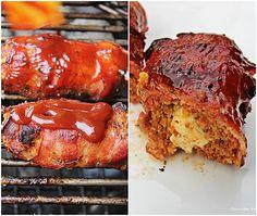 Hackleisch Tortillia Röllchen, Barbecue, Grillen, Hackfleischröllchen, Bacon, Tortilliaröllchen, Fetakäse, BBQUE, Tortillia Hackröllchen mit Bacom und Feta