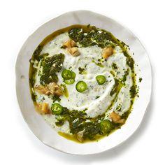 Herbed Labneh with Preserved Lemon Recipe - Bon Appétit