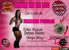 Divulg@rtes.com: ***** ESTAMOS DE VOLTA - CABARET M.M. *****