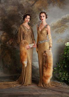 Eliza Jane Howell - beaded and embellished Art Deco inspired wedding dresses