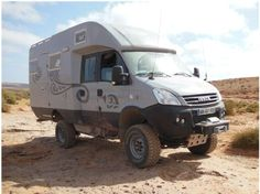 iveco 4x4 double cab camper