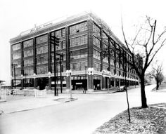 Ford Motor Company's first automobile plant in St. Louis at 4100 Forest Park Avenue.