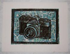 Retro Camera by VintagePrintEmporium on Etsy, $2.50