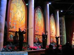 Candlelight Processional. This is a MUST DO!!! My favorite thing to do in Disney at Christmas!!!