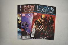 Wolverine Fear Itself Comic Books Lot Set 1 2 3 NM Daniel Acuna Jorge Molina