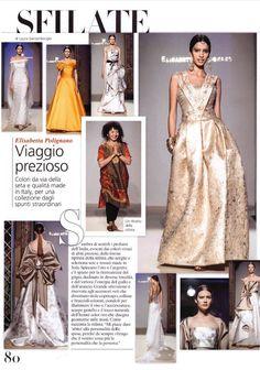 On @Vogue Sposa: un viaggio prezioso in India! #voguesposa #ElisabettaPolignano #weddingdres #EPsposa2016 #fashionshow