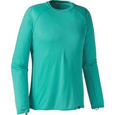 Patagonia - Capilene Lightweight Crew Shirt - Men's - Howling Turquoise