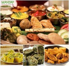 A thali that is full of authentic gujarati delicacies  and offers the flavor of Gujarat. Visit Mandap - The Authentic Gujarati Thali and enjoy the food.