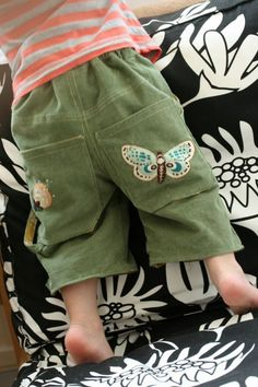 Free Skater Shorts Pattern and Tutorial