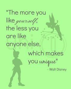 Walt Disney Quote Print Digital Art Wall Art by UniQCreations Walt Disney Logo, Walt Disney Quotes, Walt Disney Characters, Walt Disney Pictures, Disney Senior Quotes, Citations Disney, Citations Film, Badass Girl, Quotes Funny Sarcastic