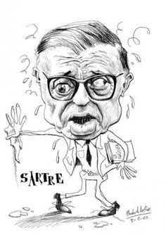 The World's Best Photos of caricaturas and writers Satire, Black And White Art Drawing, Goofy Face, Jean Paul Sartre, World Literature, Creative Advertising, World Best Photos, Art Inspo, Concept Art