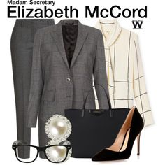 "Inspired by Tea Leoni as Elizabeth McCord on Madam Secretary. | ""I love dressing for my career. I work for my clothes..."" KLB"