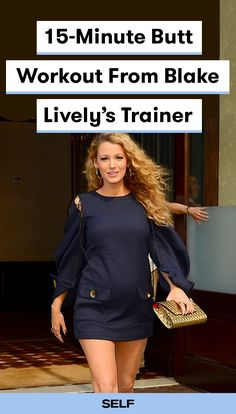 Blake Lively's celebrity trainer Don Saladino knows how to work her body and her backside. Glutes are a super important foundational muscle—so strength in this region is about way more than just aesthetics. Saladino put together a short and sweet 15-minute butt workout so that you can effectively work this important area. #blakelively #workout