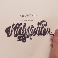 """Goodtype The Book Kickstarter"" by @moshebien"