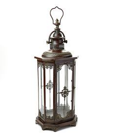 Another great find on #zulily! New Castle Lantern by Marshall Home and Garden #zulilyfinds