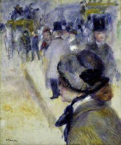 Auguste Renoir - Place Clichy