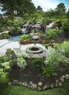 epic backyard poolscape