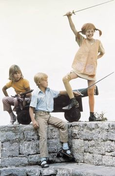 Annika, Tommy and Pippi Longstocking Kids Tv, 90s Kids, Street Magic, Morning Cartoon, Hippie Art, Stylish Kids, Historical Photos, My Childhood, Childrens Books