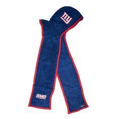 New York Giants NFL Ultra Fleece Hoodie Scarf