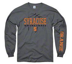 Syracuse Orange Charcoal Primer Basketball Long Sleeve T-Shirt $21.99 http://www.fansedge.com/Syracuse-Orange-Charcoal-Primer-Basketball-Long-Sleeve-T-Shirt-_-1860511663_PD.html?social=pinterest_pfid52-87947