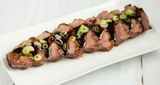 Beef Sushi, How To Cook Venison, Cooking Venison, Tapas Dinner, Barbecue Pit, Asian Recipes, Ethnic Recipes, Sausage, Keto