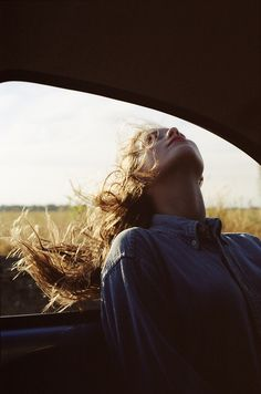 So important to have the wind in your hair the sun on your head and love in your heart..