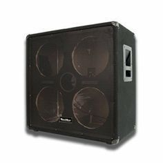 """Seismic Audio - 4x10 EMPTY Bass Guitar Speaker Cabinet - Band Pro Audio 410 by Seismic Audio. $164.99. 4x10 Empty Bass Guitar Cabinet - No WoofersModel #: SA-410 EmptyWoofer: No Woofers included5/8"""" plywood front panelBlack carpet with black metal cornersRecessed HandleFull Metal GrillTerminal cup with two 1/4"""" inputsPortedHxWxD: 25""""x26""""x15""""Condition: NewOne Year WarrantyThe Empty 4x10 Bass Guitar Speaker Cabinet is great for putting in speakers of your choice! With t..."""