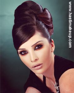 arab makeup and style
