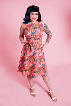 Monique Dress - Papillon