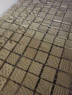 Gary Jackson-textured tiles