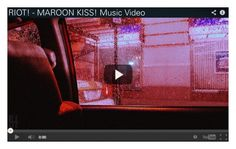 """[Debut] MAROON KISS! Music Video"" by official-riot ❤ liked on Polyvore featuring art"