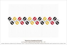 Semne Cusute: MOTIVE: floricica dumbravnicului (P39, M17) Rock Decor, Cross Stitch Borders, Diy And Crafts, Projects To Try, Traditional, Embroidery, Model, Blouse, Drawings
