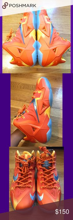 """Nike Lebron 11 Preheat """"Forging Iron"""" New without a box. Never worn size 9. ✨ALL MY SNEAKERS ARE AUTHENTIC✨ Nike Shoes Athletic Shoes"""