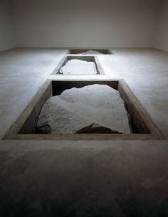Michael Heizer Displaced Replaced Mass