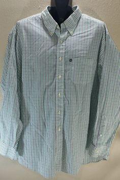 Brooks Brothers 346 Non Iron Regular Fit Mens Multi Plaid Long Sleeve Shirt XXL #BrooksBrothers
