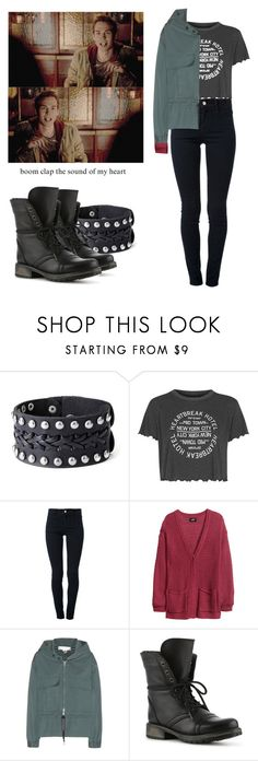 """Kai Parker - tvd / the vampire diaries"" by shadyannon ❤ liked on Polyvore featuring Topshop, STELLA McCARTNEY, H&M and Steve Madden"