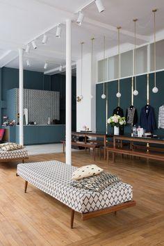 Photos : visite guidée de l'Appartement, la première boutique Sézane | Glamour