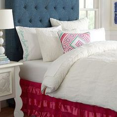 Junk Gypsy Crocheted Lace Duvet Cover + Sham