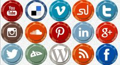 Another time we are giving what we love, social media icons has been on of the favorite resource for any web designer, keeping all things necessary in mind, we have created this lovely social media icon set with 16 icons of most popular social media sites for free download.
