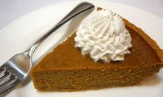 Chef Skye Michael's Classic Pumpkin Pie -- can't wait to test this recipe!!  #vegan