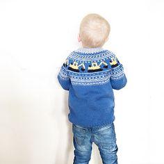 Ravelry: Gravemaskingenser (NORSK) pattern by Katrine Opgård og Linn Anita Dahle Knitting Patterns Boys, Baby Sweater Patterns, Baby Pullover Muster, Baby Sweaters, Ravelry, Turtle Neck, Fashion, Tutorials, Moda