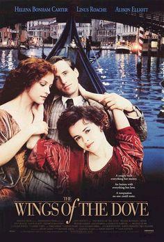 The Wings of the Dove, 1997 starring Helena Bonham Carter & Linus Roache. Based on the 1902 novel by Henry James.