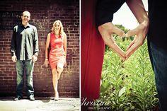 City Engagement Photo Wedding  Nicole Christine Photography
