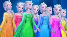 Disney Frozen Elsa Animals Dinosaurs Mega Finger Family Collection   Frozen Elsa Finger Family Songs